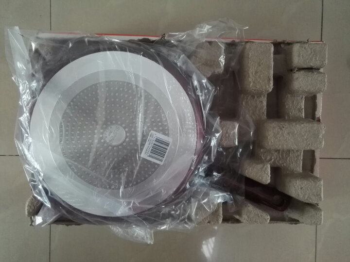 苏泊尔28cm玻璃盖火红点煎锅平底锅不粘电磁炉通用PJ28K4(新老款随机发货) 晒单图