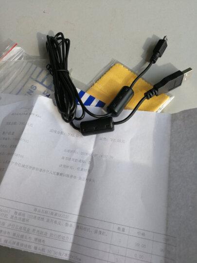 佳能(Canon)原装数据线 5D3、5D2、80D、70D、60D、100D等单反、数码相机连接线 黑色双磁环 晒单图