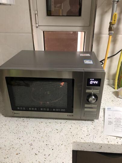 美的 5人以上用 电脑版操控 25升 专业烧烤 变频 平板加热 蒸立方 微波炉 M5-251C银色 晒单图