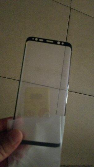 图拉斯 三星S8钢化膜全屏覆盖3D曲面手机玻璃贴膜高清非水凝膜防指纹 适用于三星S8/S8+ Galaxy【3D热弯曲面】★小屏 【全玻璃】 晒单图