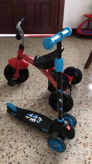 gb好孩子 儿童三轮车 宝宝脚踏车 儿童骑行三轮车 SR130-H003B 蓝色 晒单图