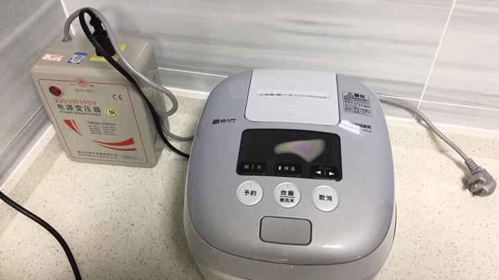 舜红铜芯足功率2000W 220V转110V变压器vitamix料理机电饭煲用 晒单图