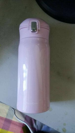 慕厨(Momscook)不锈钢保温杯 304 真空直身杯带盖 便携 时尚 女士小巧可爱公主 MT350T  350ML 晒单图