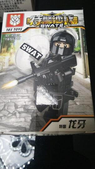 军事战争八路军兼容乐高二战积木人仔人偶绝地求生特种兵军人武装部队坦克航母兵人拼装玩具 我的世界 日本6款 晒单图