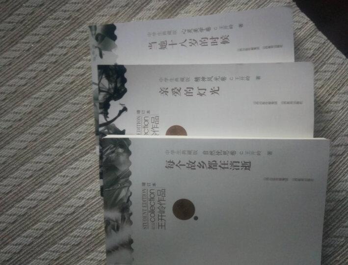 正版套装现货 王开岭作品:每个故乡都在消逝+亲爱的灯光+当她十八岁的时候 共3册 散文集 晒单图