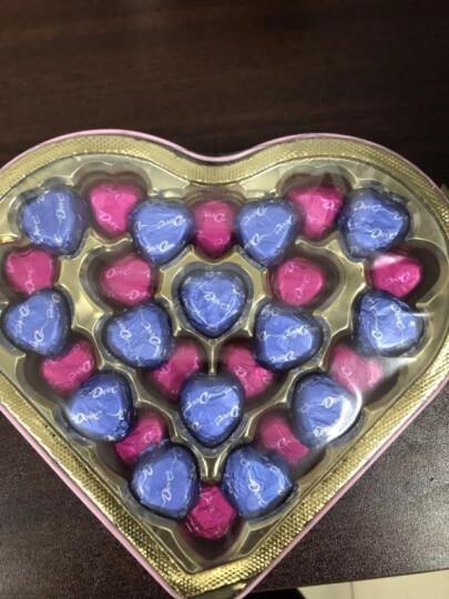德芙Dove皂花巧克力礼盒 糖果巧克力 情人节教师节礼物节 150g(限量款粉色心语巧克力150g +皂花礼盒) 晒单图