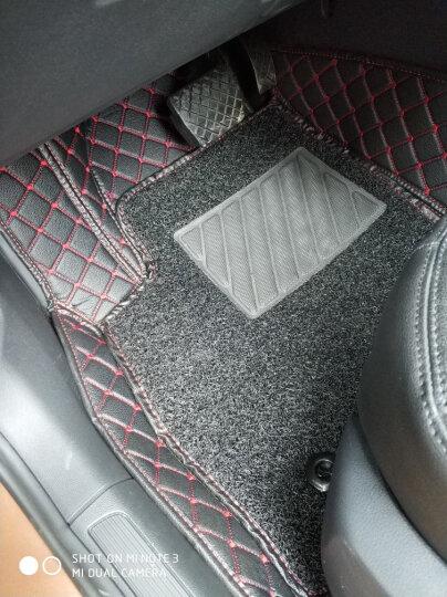 车丽友 全包围丝圈双层汽车脚垫 专用于大众高尔夫7高七凌渡凌度改装装饰脚垫 晒单图