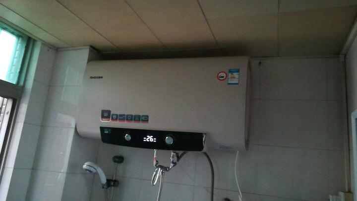 史麦斯 (SMS)B21即热式电热水器储水式双内胆扁桶家用洗澡机40/50/60升速热节能 SMS-B21/50L/3000W双胆速热 晒单图