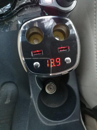 纽曼(Newsmy)车载充电器 汽车充电器杯点烟器一拖二双拓展口3.1A车充智能快充电压检测12V/24V通用DA-18黑色 晒单图