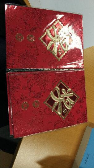 龙红(LH) 君影  婚庆用品结婚红包创意万元红包公司学生年终奖金大红包信封红包袋 奖金红包(2个装)五对起拍 万元红包 晒单图