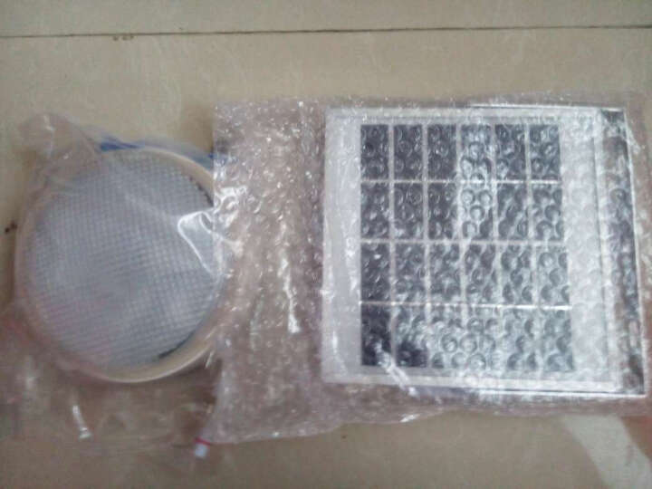 照百顺太阳能灯投光灯户外防水庭院灯壁灯家用分体式100W路灯 200W 晒单图