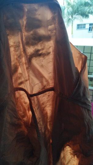 佐丹奴羽绒服 女装可机洗90%白鸭绒连帽时尚轻薄羽绒服女13377704 01浅藕红色 加大码(170/88A) 晒单图