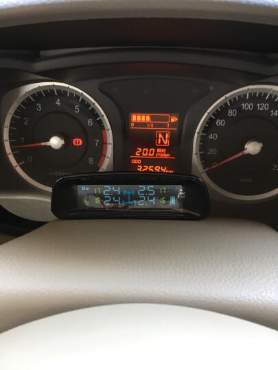 也酷(1stcool) 太阳能胎压监测器内置外置400胎温同测汽车轮胎检测仪无线TPMS TW400外置 晒单图