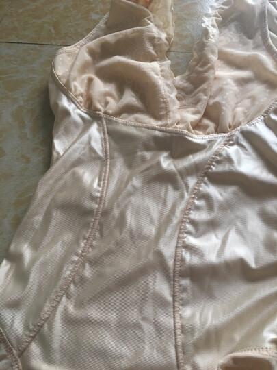 艾仕嘉 塑身连体衣产后美体束腰衣女士无痕收腹提臀束身透气带文胸 肤色 L (2.2-2.4尺腰围) 晒单图
