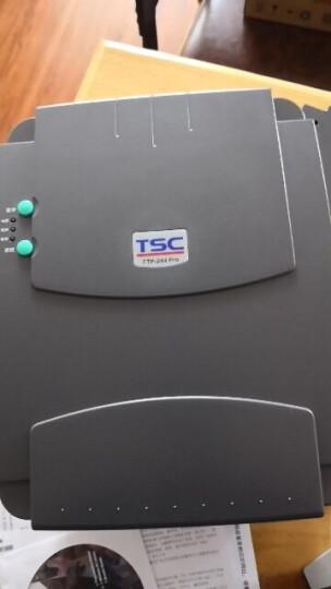 TSC 台半TTP-244 Pro 标签打印机不干胶热敏打印机条码二维码 电子面单快递单 244pro(送1卷标签+1卷200米碳带) 晒单图