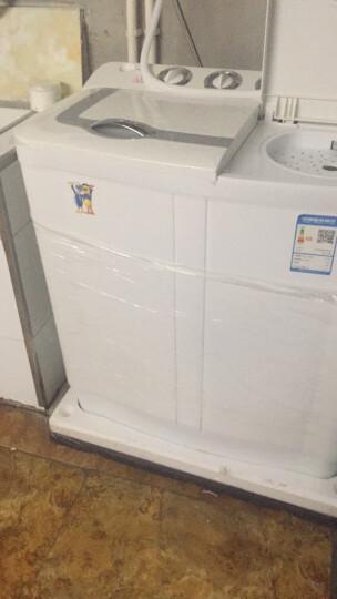 小鸭 XPB80-3480S 8公斤 半自动波轮双桶双缸洗衣机 晒单图