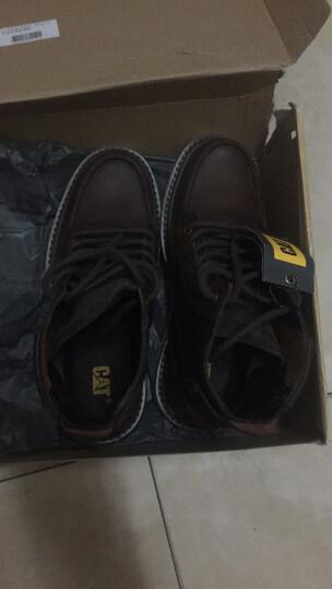 CAT卡特男鞋经典工装靴高帮休闲鞋马丁靴粗犷P712947G3EDR01 黑色1 41 晒单图
