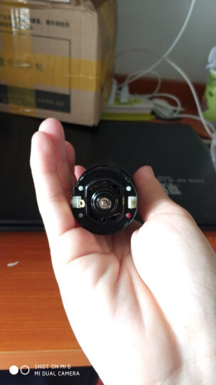 千水星 黑壳550模型电机 大扭力四驱车马达电动机D型轴DIY制作遥控车越野车玩具配件 1个 晒单图