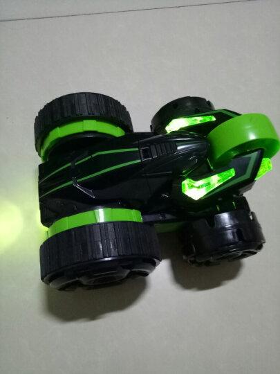 五轮特技车六通变形翻斗车花式醉步特技车儿童玩具翻转越野遥控汽车 5轮特技车绿色 晒单图