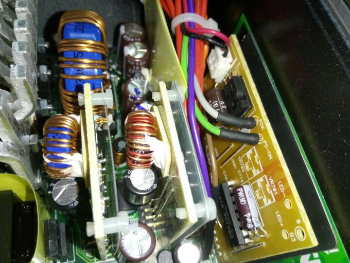 台达(Delta)额定550W NX550游戏主机电源(80PLUS铜牌认证/五年质保/日系电容/12CM温控静音风扇/支持背线) 晒单图
