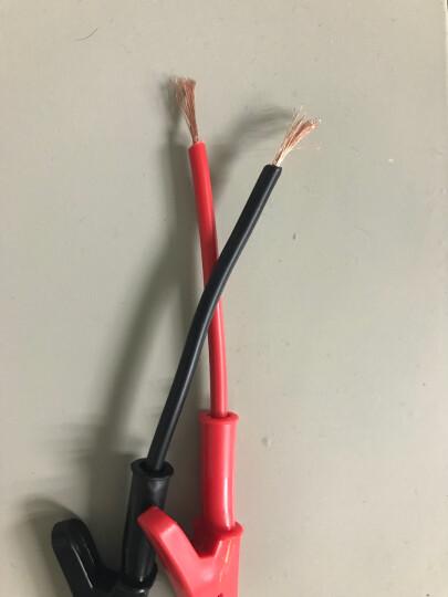 A-BF/不凡 测试导线 香蕉插头转鳄鱼夹 双头夹线 电源输出测试线 香蕉头转鱼夹 晒单图