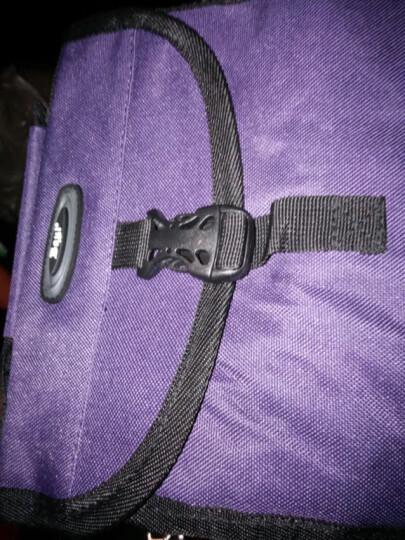 博兿(BOYI )旅行洗漱包男女士便携防水化妆包收纳袋出差户外必备 BY09190深紫 晒单图
