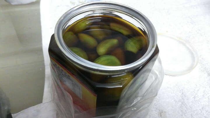 山东金乡特产 腊八蒜400g/罐   醋泡大蒜头新鲜腌蒜绿蒜 晒单图