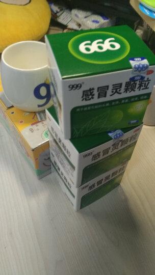 999(三九深圳) 感冒灵胶囊 0.5g*12粒头痛 发热 鼻塞 流涕 咽痛 感冒药品 晒单图