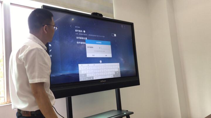 CVTOUCH会议平板 办公电子白板 交互式培训一体机 无线投影 幕布 电子显示屏 会议平板+移动支架+无线传屛+摄像头+智能笔 晒单图