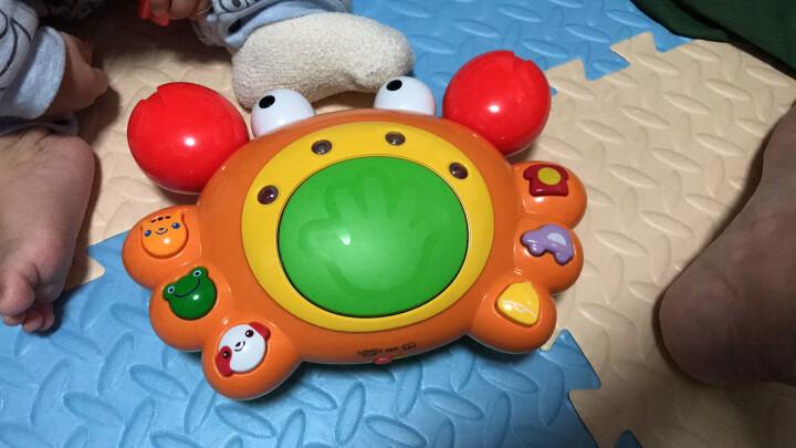 澳贝(AUBY) 益智玩具 好问爬行小蟹 运动爬行婴幼儿童早教启智声光玩具 463307DS 晒单图