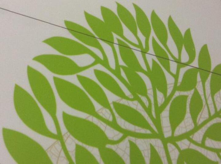 瓷刻 客厅电视背景墙 瓷砖 电视墙  常青树 微晶石+精雕/0.1平方米 晒单图