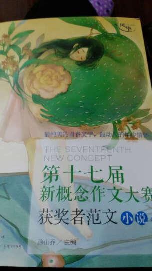 新概念作文大赛十七周年获奖者范文小说卷 晒单图