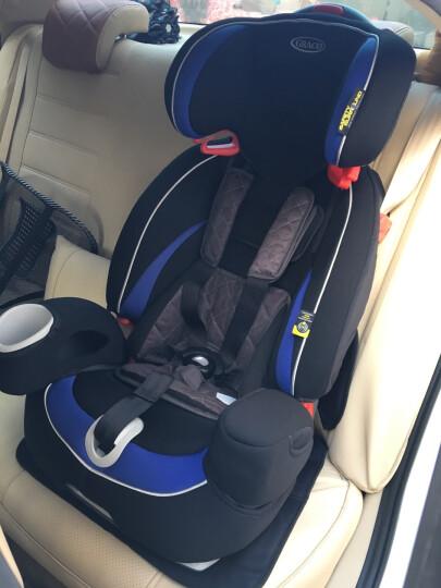 葛莱 美国GRACO 鹦鹉螺系列 婴儿童汽车安全座椅8J39 9月-12岁升级ISOFIX 草莓红 晒单图