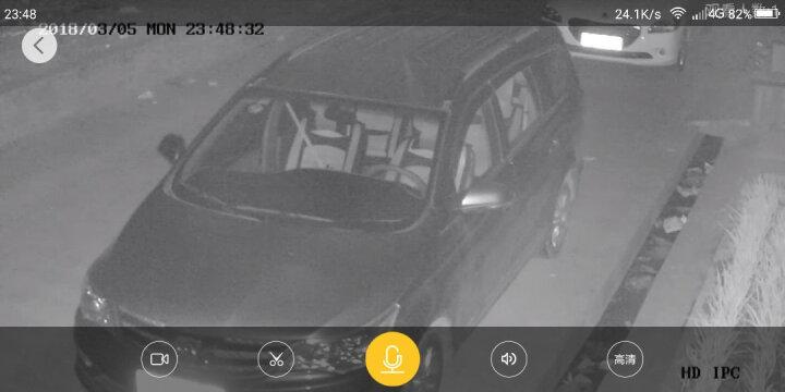 雅视威 无线监控摄像头一体机高清网络摄像头wifi智能监控器 室外监控设备插卡 200W超清-4倍自动焦距-云台旋转版 带8G内存卡 晒单图