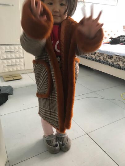 女童外套儿童防晒衣夹克春夏季款装短款童装新款2018韩版中大童防晒衣小孩子衣服 卡其(呢大衣) 140 晒单图