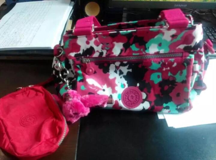 findpop女包手提包单肩包斜挎帆布包尼龙女士包包 1318水波纹 晒单图