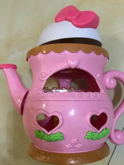 凯蒂猫 hello Kitty快乐的家树屋游乐场泡泡枪女孩过家家小镇玩具全套 造型贴纸机KT-04621 晒单图