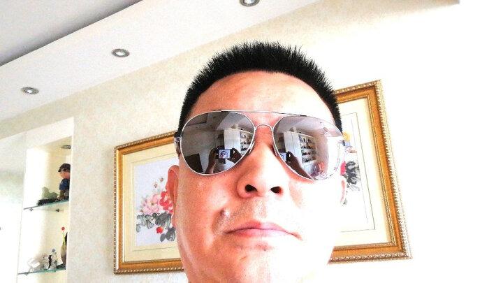 MONTBLANC 万宝龙 男款 银色镜框灰色镜片眼镜太阳镜MB644S 16C 60MM 晒单图