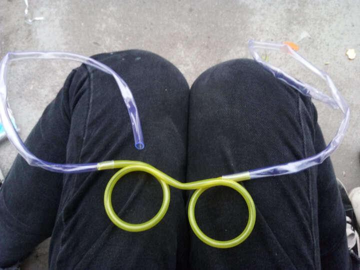 可爱卡通眼镜吸管 DIY创意整蛊搞怪趣味眼睛吸管 夏季创意饮料吸管 黄色 晒单图