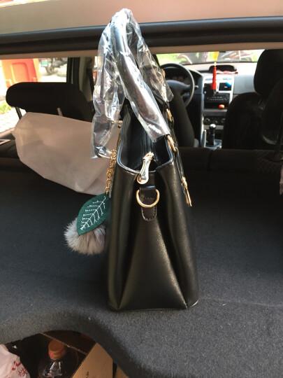 Banaroo女包新款单肩包女2018韩版潮流斜跨杀手包新款简约时尚手提包 浅蓝色 晒单图