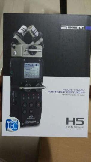 ZOOM H5 手持数字录音机 录音笔 采访机 H-5 XY录制立体声录音机H4N 晒单图