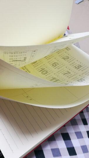 广博(GuangBo)彩色商务皮面笔记本文具a5加厚记事本子办公用品会议记录本 可定制LOGO 常规三本装(颜色随机 ) 晒单图