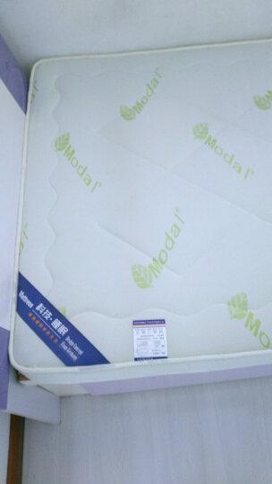 跟着感觉走加厚床垫床褥子可折叠榻榻米学生床垫子单人双人床垫被 宝宝绒咖色 1.2*1.9 晒单图