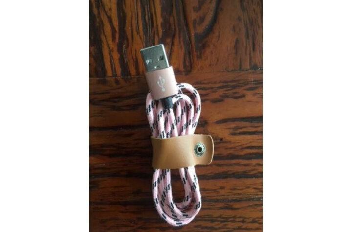 苹果三星华为小米安卓移动电源充电线全铜芯 提速30% 编织尼龙绳数据线 三选一 苹果通用编织数据线 晒单图