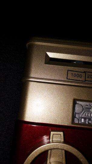 壹盒惊喜超大号存钱罐电子密码自动吸纸币可投硬币储蓄罐 圣诞节生日礼物送小孩子银色 晒单图