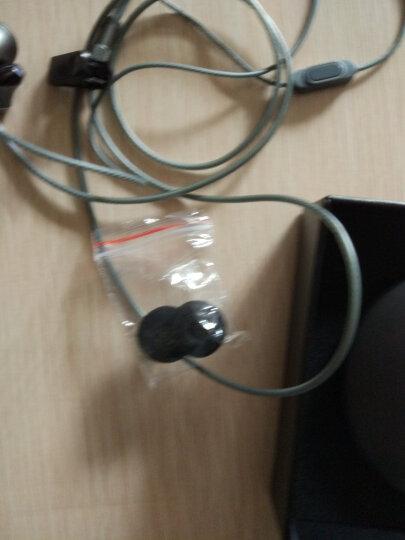 兰士顿 F9耳机入耳式 重低音通用男女生 k歌耳机 音乐耳机 安卓苹果手机通用耳塞式唱歌带麦电脑耳机 玫瑰金 晒单图