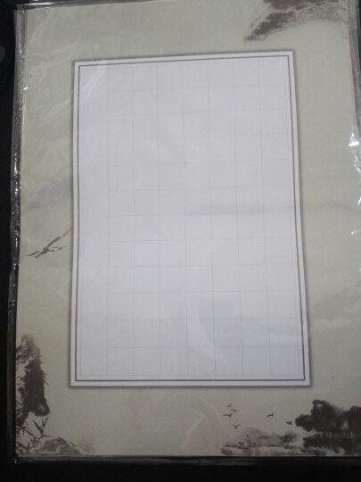 苏墨坊硬笔书法纸田字格钢笔练习作品创作纸学生卡通比赛用纸信笺A4套装T1 套装 晒单图