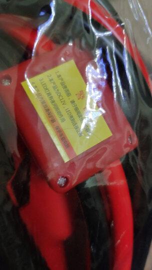 沿途 汽车电瓶搭火线 3米 带电压过载保护器+提示灯 搭电线电瓶夹子连接打火 过江龙 N05 晒单图