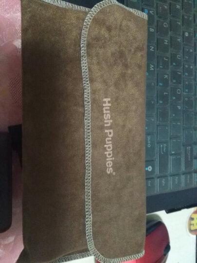 美国暇步士Hush Puppies 真皮男士钱包 长款优质头层牛皮钱夹 商务休闲卡片皮夹 啡色HC-1611810D-501 晒单图