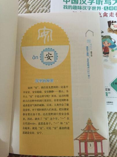 中国汉字听写大会-我的趣味汉字世界-(共五册)-儿童彩绘版 新华书店正版 晒单图
